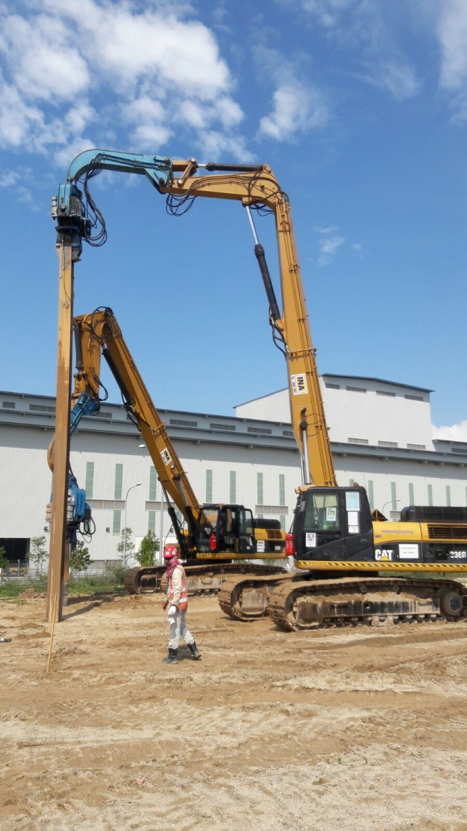 INA Engineering & Construction | Hydraulic Excavator Rental