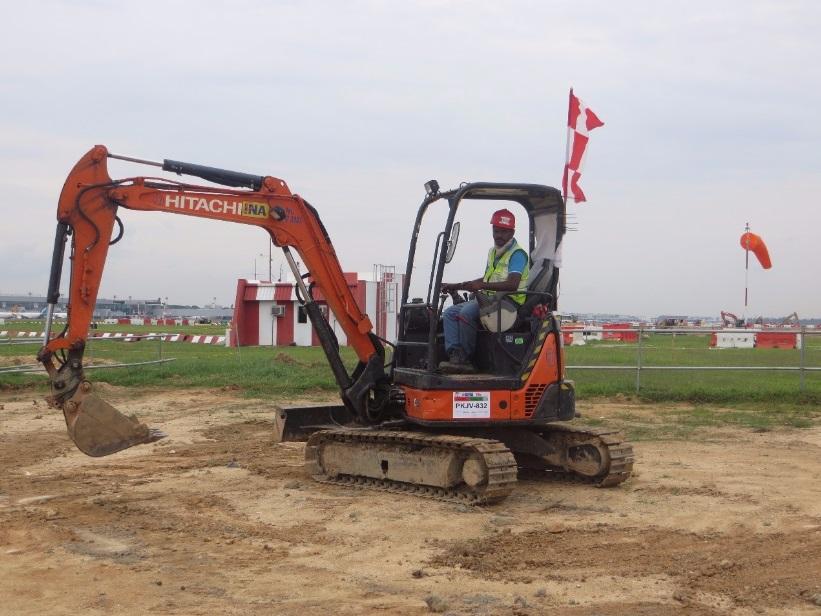 INA Engineering & Construction | Hydraulic Excavator Rental